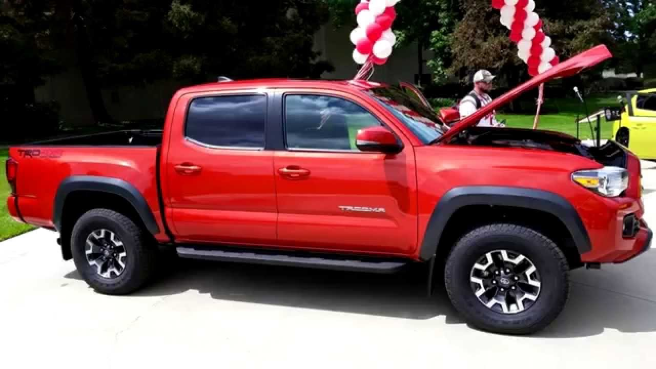 2016 toyota tacoma double cab trd off road interior exterior youtube. Black Bedroom Furniture Sets. Home Design Ideas