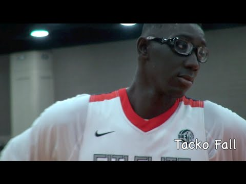Tacko Fall Highlights This A.M. @ AAU Nationals - YouTube