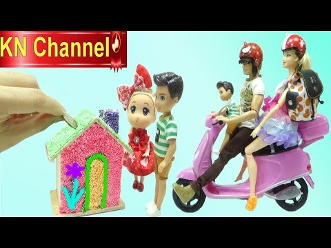 KN Channel thương tặng bé Nguyễn Gia Kiệt video VỀ QUÊ NGOẠI ĐỒ CHƠI PLAY FOAM HẠT XỐP MÀU SẮC