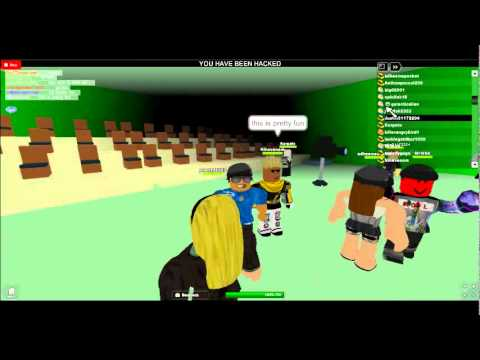 Gross hacker on ROBLOX! - YouTube