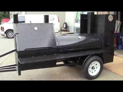 Make Money Start a BBQ Smoker Grill Rental Business Weddings Mobile Food Truck