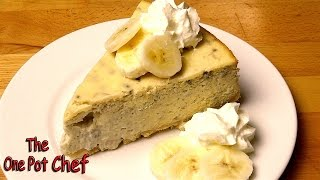 Banana Cream Pie Cheesecake - Recipe