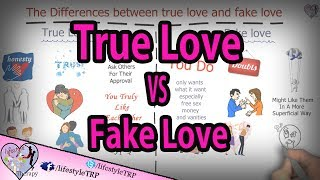 14 Differences between true love and fake love  | animated video