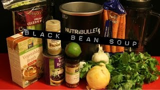 "Nutribullet Rx ""black Bean"" Soups Vegan Recipe"