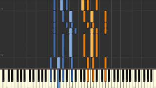 Little Drummer Boy (Boney M.) - Piano tutorial