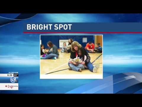 RIT on TV: Student-athletes read to children