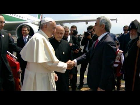 Папа Франциск в Армении: визит в