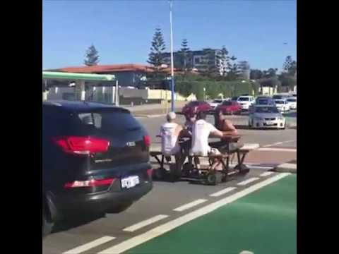Only In Perth, I never saw anything like that  Credit  ViralHog