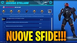 New Stellar ASCESA Challenges The Secret Skin Scientist Season 10 Fortnite Live ita !challenges