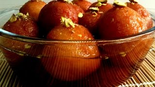dry khoya sooji gulab jamun - in english subtitle