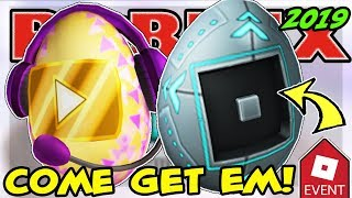 🔴 ROBLOX LIVE 🔴 LAUNCHING THE EGGMIN (ADMIN) & VIDEO STAR EGGS | EGG HUNT 2019 SCRAMBLED IN TIME