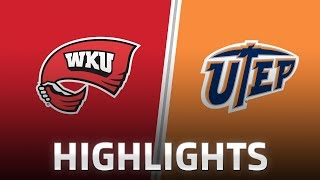 Highlights: WKU at UTEP