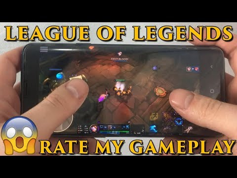 League Of Legends Android Gameplay – How To Download League Of Legends Mobile APK - LoL Android