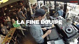 La Fine Équipe (oOgo, Chomsky & Mr Gib) • Live Set • Nowadays Records Takeover #2 • LeMellotron.com