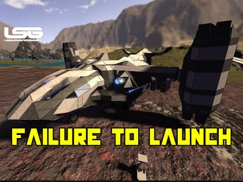 Space Engineers - Failure To Launch !!!