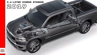 3.6-liter Pentastar V-6 With Mild Hybrid eTorque 2019 Ram 1500 Truck