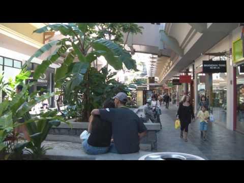 Ala Moana Shopping Center Walkthrough/High Definition