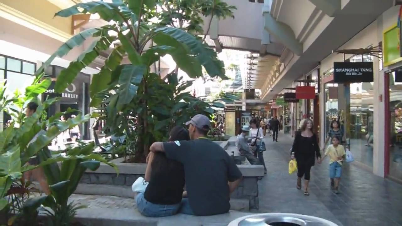 Ala Moana Shopping Center Walkthrough High Definition Youtube
