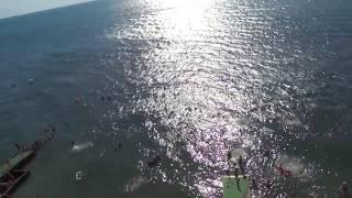 "Море Анапы, санаторий ""Малая Бухта"" сегодня 26.08.2017"