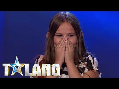 Har Linnea tillräckligt med swag för att gå vidare i Talang 2017? - Talang (TV4)