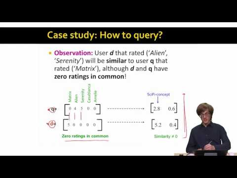 SVD Example and Conclusion | Stanford University