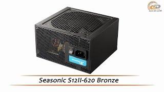 Seasonic S12II-620 Bronze - відеоогляд блоку живлення