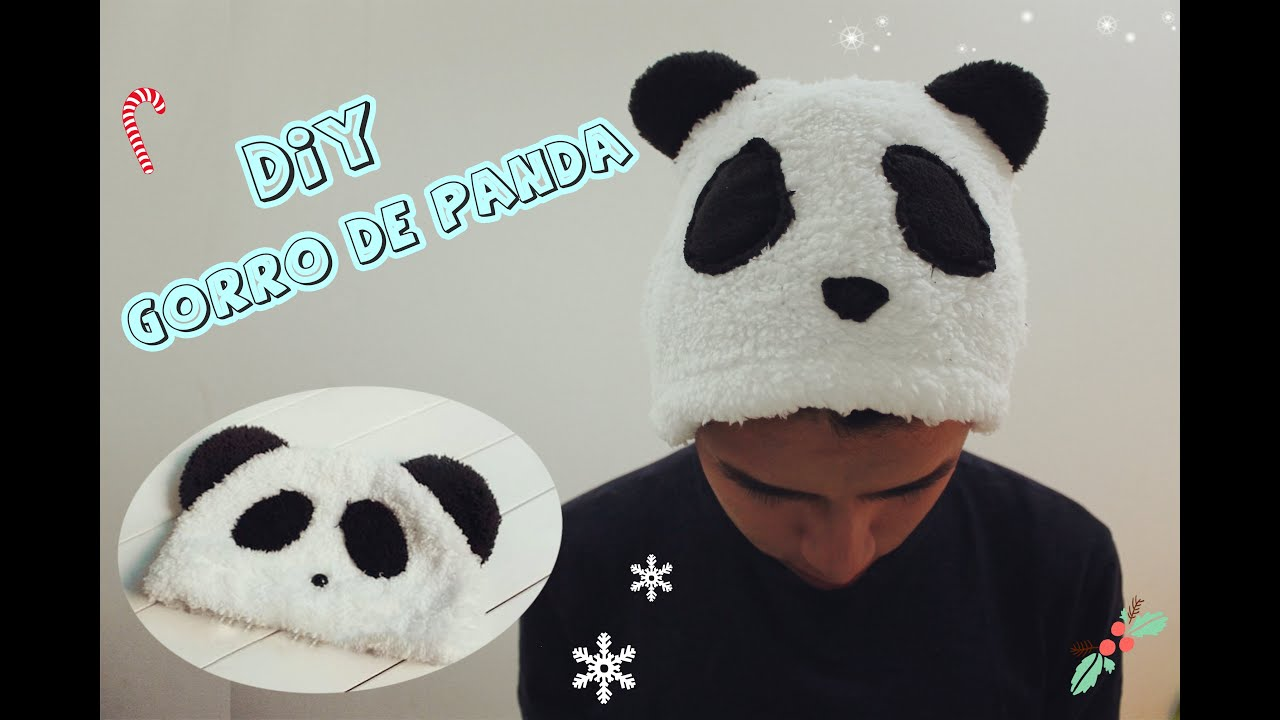 DIY/Gorro de PANDA -Dany Cute- - YouTube