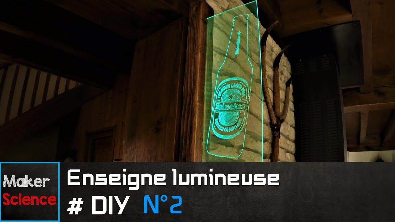 #DIY Enseigne lumineuse N°2