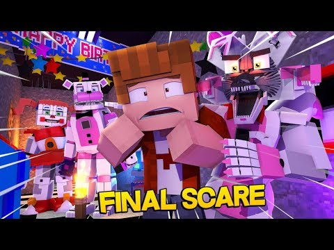 Minecraft Fnaf Final Scare (Minecraft Roleplay)