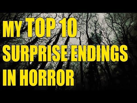 My TOP 10 Favorite Surprise Endings In Horror