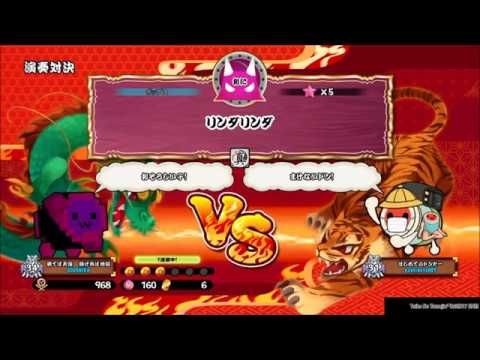 【PS4 Taiko no Tatsujin】SHAMRON BATTLE!!! 10
