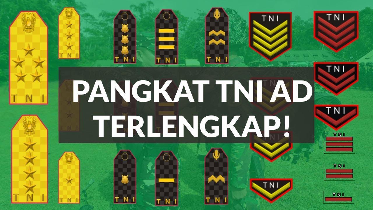 Download Pangkat TNI AD dari Terendah Sampai Tertinggi