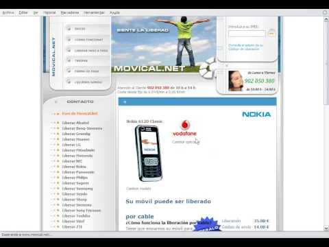 Liberar nokia 6120 classic en movical net youtube - Movical net liberar ...