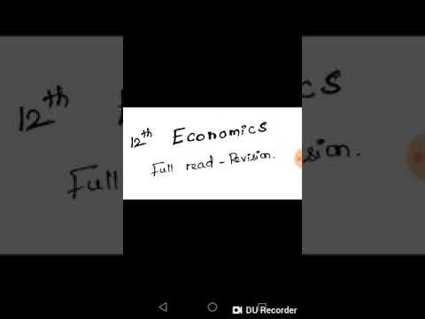 Download 12th economics last 2 lessons. Full read revise.