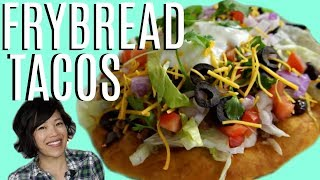 FRY BREAD &amp Navajo TACOS  HARD TIMES - recipes from times of food scarcity