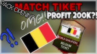 Match Ticket Pack Opening - PROFIT 200K!!