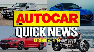 Tata Altroz DCT, Hyundai Nexo, Skoda Octavia RS 245 and more | Quick News | Autocar India