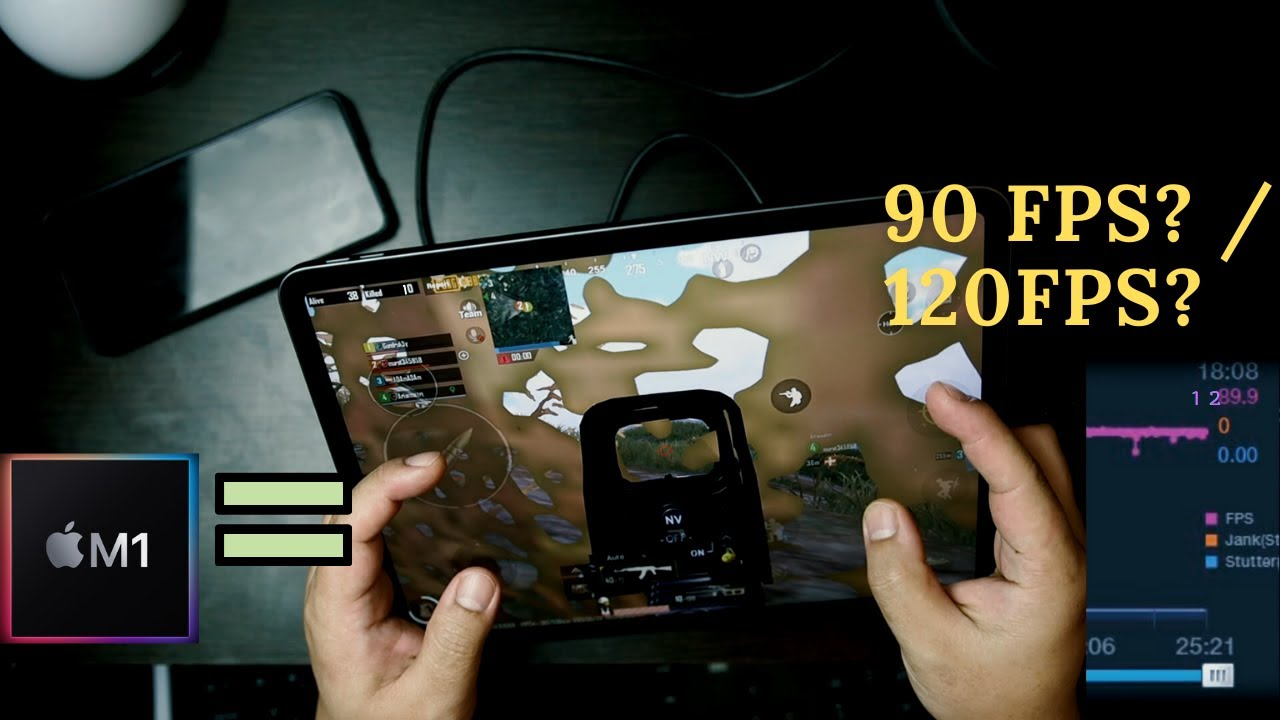 Why iPad Pro 2021 M1 PUBG mobile nothing special? - YouTube