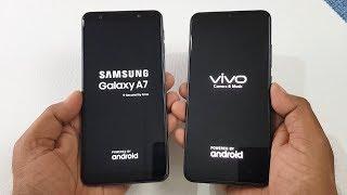 Samsung A7 (2018) vs Vivo V11 Pro Speed Test & Camera Test !