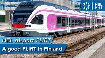 HSL/VR | FLIRT | Vantaa Airport 🇫🇮  - Helsinki 🇫🇮  |
