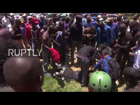 Kenya: State security deploy tear gas to disperse protest against annulled election