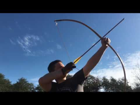 Speed and Distance Testing a Plains Indian Horse Bow