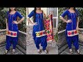 Beautiful kurti making from plain fabric /very easy