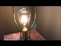 LED Vintage Filament style Edison Light Bulbs (4w ST64 Warm Colour 2400K) by Gordon & Bond review