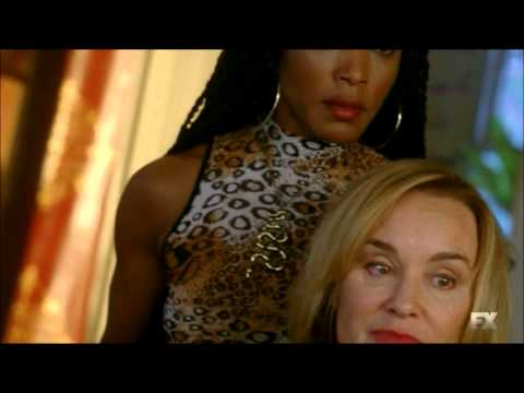 American Horror Story: Coven  Fiona Goode meets Marie Laveau