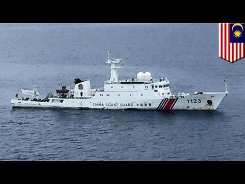 South China Sea dispute: Chinese coast guard intrudes into Malaysian waters near Borneo - TomoNews