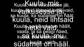 Ott Lepland - Kuula (sõnadega/with lyrics)