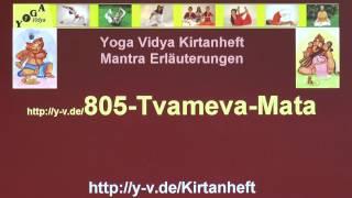 Tvameva Mata - Interpretation und Übersetzung 805