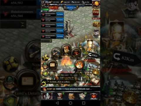 Clash of kings - Kingdom Conquest - K1305 VS K1167