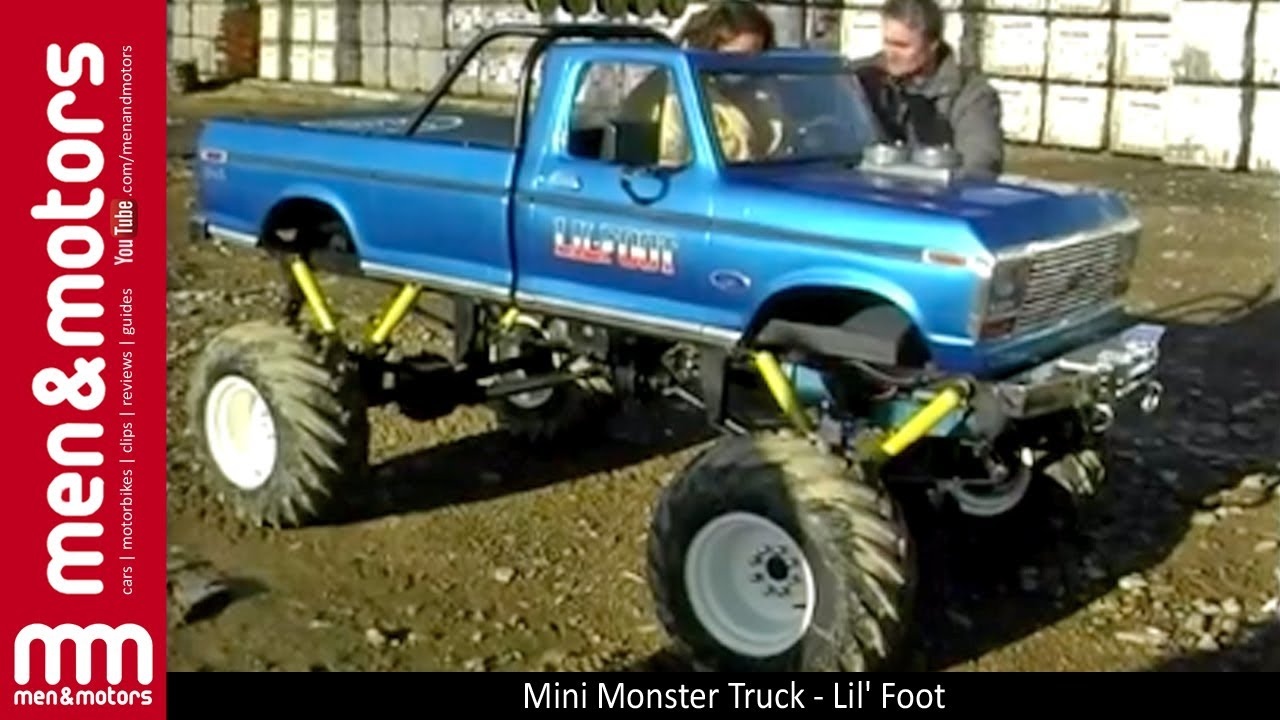 Mini Monster Truck Lil Foot Youtube